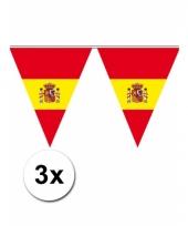 3 vlaggenlijnen van spanje