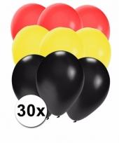 30 stuks ballonnen kleuren duitsland 10087279