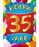 35 jaar thema mega deurposter