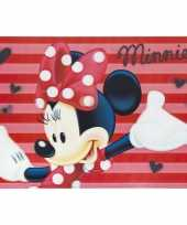 3d placemat disney minnie mouse rood 42 x 28 cm