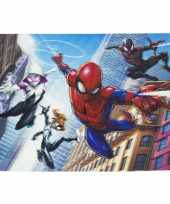 3d placemat marvel spiderman en friends 42 x 28 cm