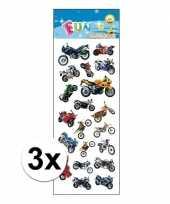 3x poezie album stickers racemotoren
