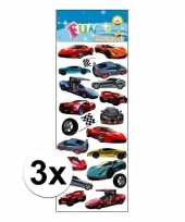 3x poezie album stickers sportauto