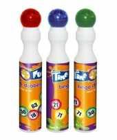 3x ronde stiften voor bingo 43 ml