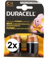 4 pack duracell batterijen cr14