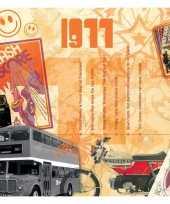 40ste verjaardag cd kaart