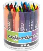 48 gekleurde wasco krijtjes