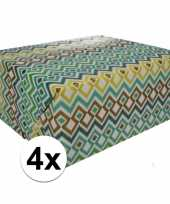 4x kadopapier gekleurd type 3 70 x 200 cm 10124720