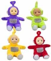 4x teletubbies speelgoed complete speelpoppen set 26 cm alle figuren
