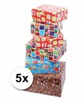 5 rollen cadeaupapier sinterklaas
