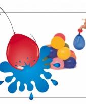 50 gekleurde waterballonnen