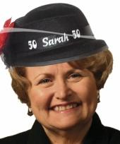 50 jaar sarah hoed