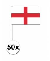 50 zwaaivlaggetjes engelse vlag
