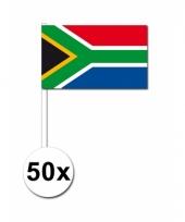 50 zwaaivlaggetjes zuid afrikaanse vlag