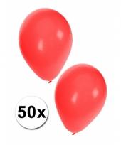 50x rode feestballonnen