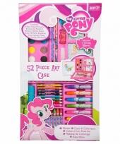 52 delige my little pony kleurset