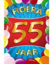55 jaar thema mega deurposter