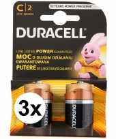 6 pack duracell batterijen cr14