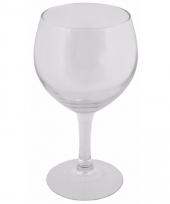 6 stuks rode wijn glazen 41 cl