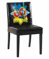 60 jaar decoratiebord voor op een stoel
