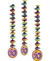 60 jaar feestartikelen feest deco