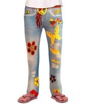 60s jeans leggings voor kinderen