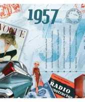 60ste verjaardag cd kaart