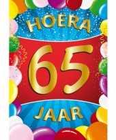 65 jaar thema mega deurposter