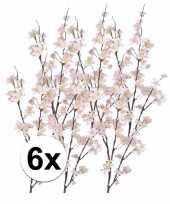6x appelbloesem kunst tak roze84 cm