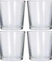 6x drink glazen 250 ml