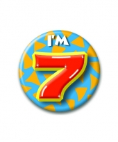 7 jaar button