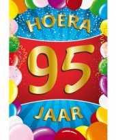 95 jaar thema mega deurposter