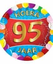 95 jaar verjaardag party viltjes