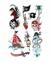 9x piraten tattoeages voor kinderen