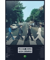 Abbey road poster 91 5 cm