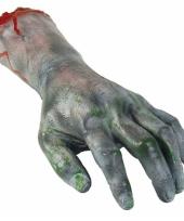 Afgehakte zombie horror hand