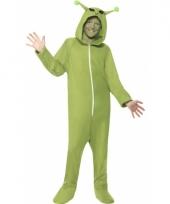 Alien onesie pak voor kinderen