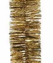 Ambiance christmas gouden kerstversiering folieslinger 270 cm 10097980