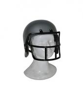 American football helm grijs voor kinderen