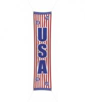Amerika decoratie banner 300 cm