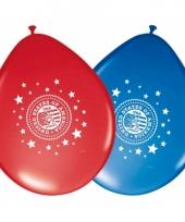 Amerika themafeest ballonnen 8 stuks