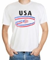 Amerika vlaggen t-shirts voor heren