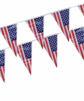 Amerikaanse vlaggenlijn 4 meter