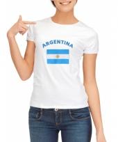 Argentijnse vlaggen t-shirt voor dames