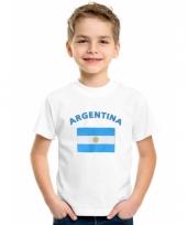 Argentijnse vlaggen t-shirts voor kinderen