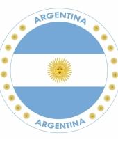 Argentini vlag print bierviltjes