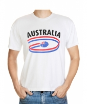 Australie vlaggen t-shirts voor heren