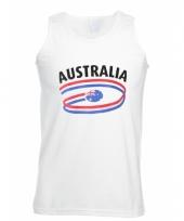 Australie vlaggen tanktop voor heren