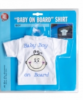 Auto hanger baby on board boy