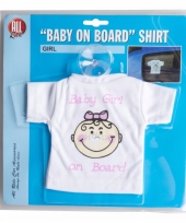 Auto hanger baby on board girl